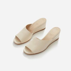 Everlane The Wedge in Bone 9.5